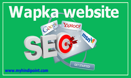 Seo optimization tips how to make wapka website seo wapka wapsite ka seo kaise karte he.