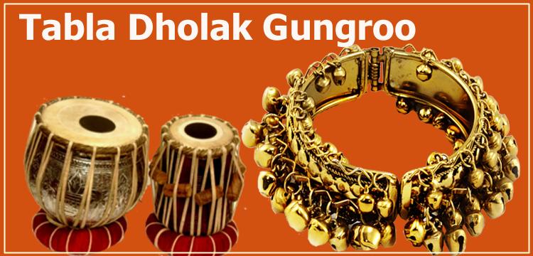 Tabla Dholak ghungru beat pack