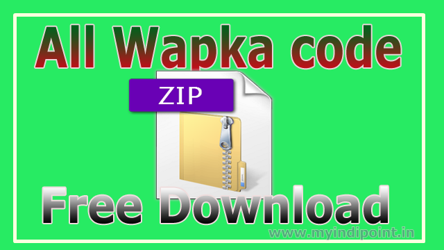 all wapka code script code download wapka website tutorials in hindi