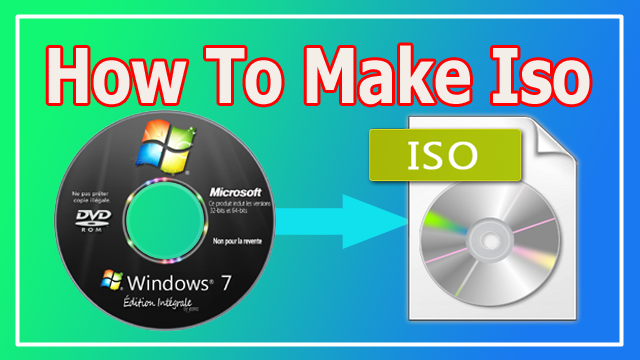 How to make iso image from cd dvd bootable iso image kaise banate hai