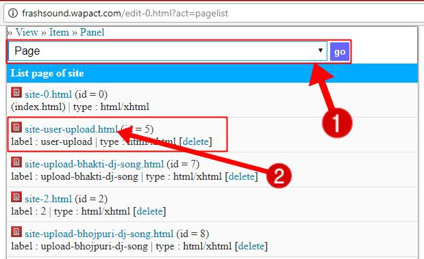 wapact website mai user file uploader kaise add kare