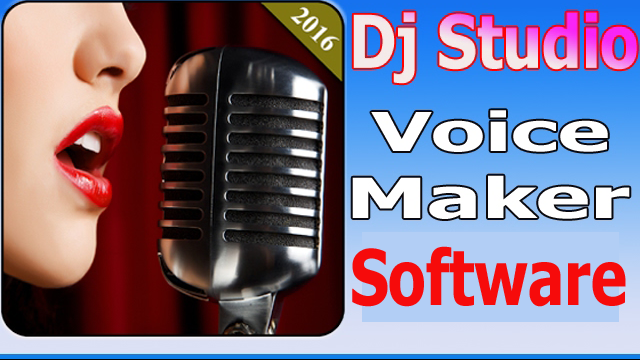Studio voice recorder software