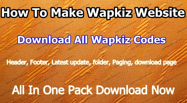 wapkiz website kaise