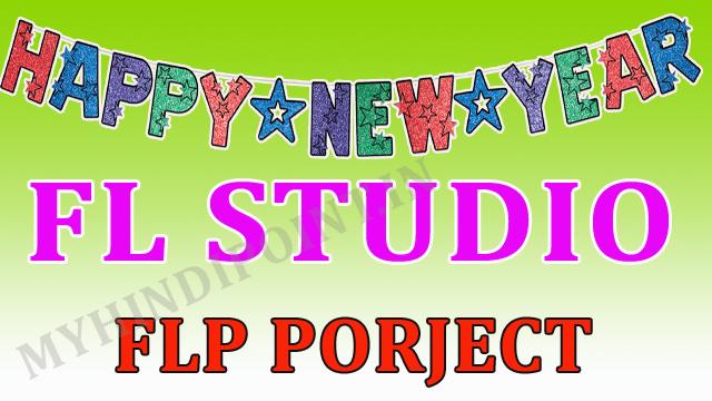 Happy new year fl studio flp
