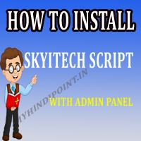 skytech script kaiseinstall kare how to fully install skyitech script admin panel