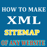 Website ka Sitemap kaise banate hai online How to make xml sitemap of any website
