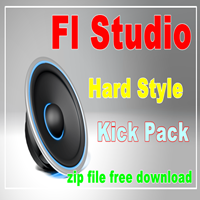 fl studio hard style kick zip file free download grv kick, hard kick, reverse kick