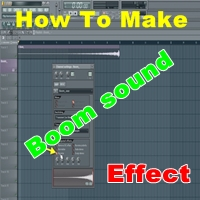 Create a BOOM sound effect in FL studio FL Studio main Boom sound kaise banaye