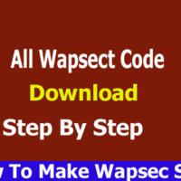All Wapsect Code